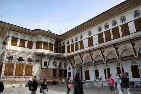 The Interval and Mabeyn Courtyard Harem Topkapı Palace Istanbul Turkey
