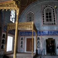 Thrones Privy Chamber of Sultan Murat III Harem Topkapı Palace Istanbul Turkey