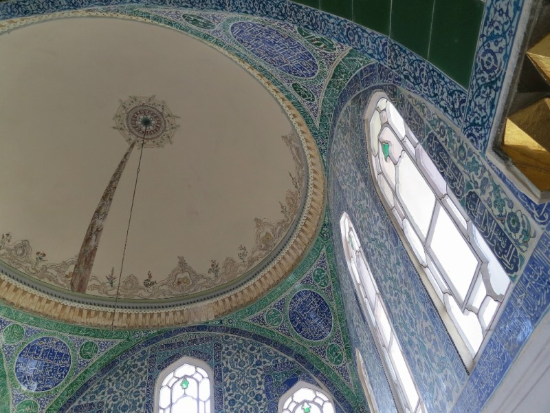 Tiles and Dome Privy Chamber Sultan Ahmet I Harem Topkapı Palace Istanbul Turkey