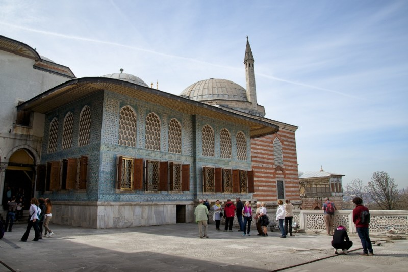Twin Kiosk Crown Prince Apartments Harem Topkapı Palace Istanbul Turkey