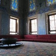 Window Fountains Twin Kiosk Harem Topkapı Palace Istanbul Turkey