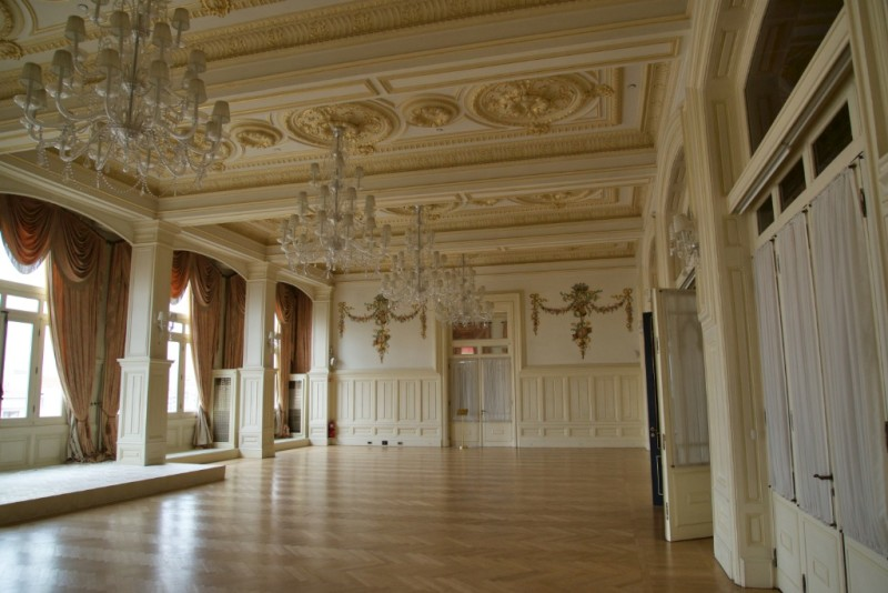 Grand Pera Ballroom Pera Palace Hotel Istanbul Turkey
