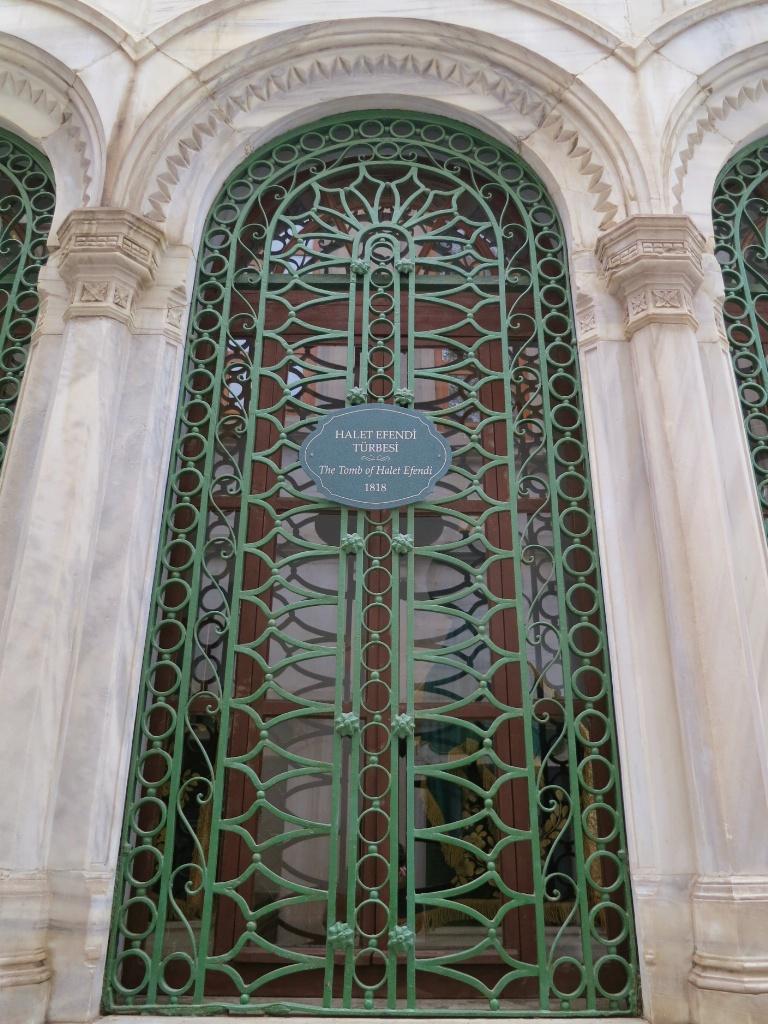 Halet Efendi Mausoleum Whirling Dervish Museum Istanbul Turkey
