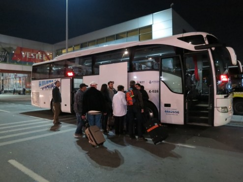 Havataş bus Sabiha Gokcen Airport Istanbul Turkey