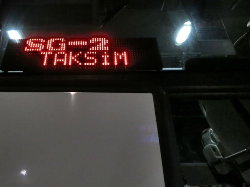 Havataş bus to Taksim Sabiha Gokcen Airport Istanbul Turkey