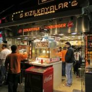 Kızılkayalar Hamburgers Istanbul Turkey