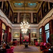 Kubbeli Saloon & Tea Lounge Pera Palace Hotel Istanbul Turkey