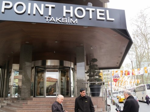 Point Hotel Istanbul Turkey