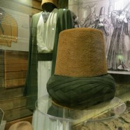 Sikke Dervish Hats and Robes Whirling Dervish Museum Istanbul Turkey