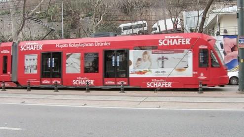 Tram Istanbul Turkey