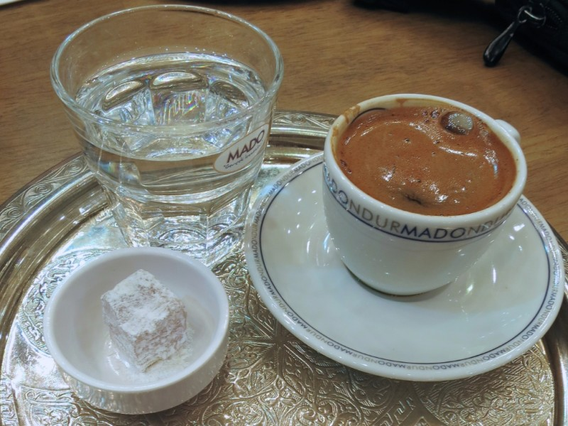 Turkish Coffee Mado Istanbul Turkey