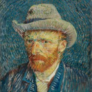 Van Gogh Selfportrait Van Gogh Museum Amsterdam The Netherlands