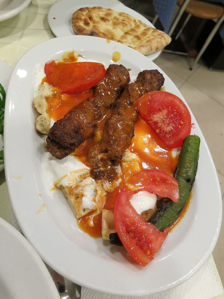 Yogurtlu Kebap Tatbak Istanbul Turkey