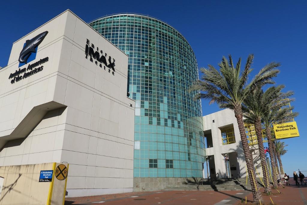 Aquarium Of The Americas And Imax Theatre New Orleans