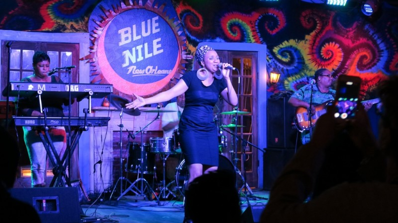 Band At Blue Nile Frenchmen Street New Orleans