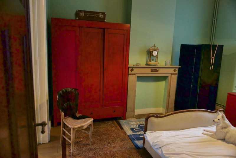 Bedroom Rene Magritte Museum Jette Brussels Belgium