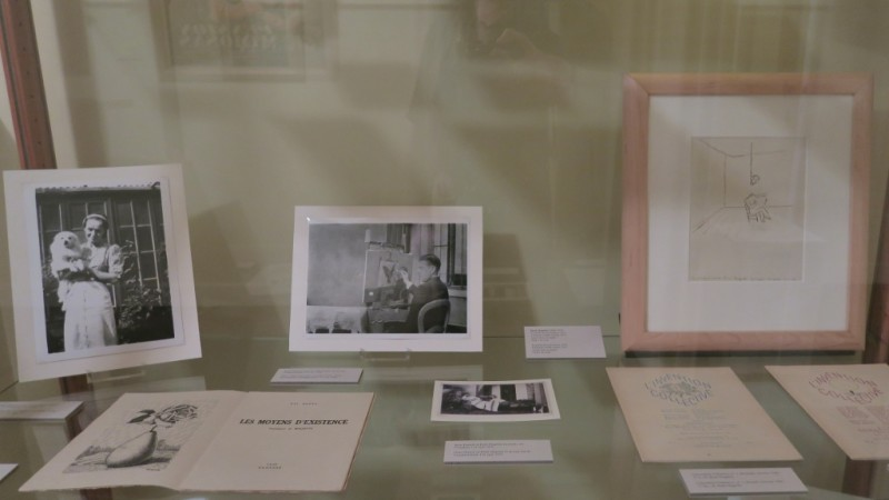 Photos and Sketches Rene Magritte Museum Jette Brussels Belgium