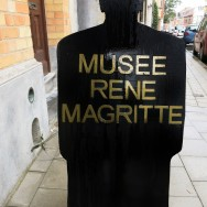 Sign Rene Magritte Museum Jette Brussels Belgium