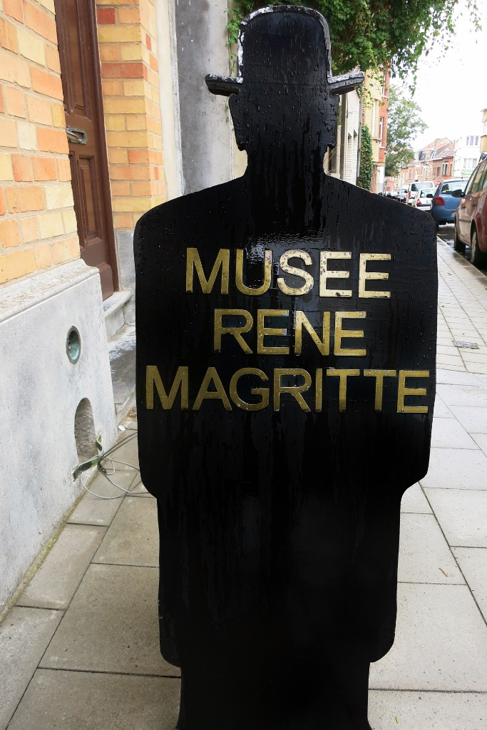 Sign Rene Magritte Museum Jette Brussels Belgium