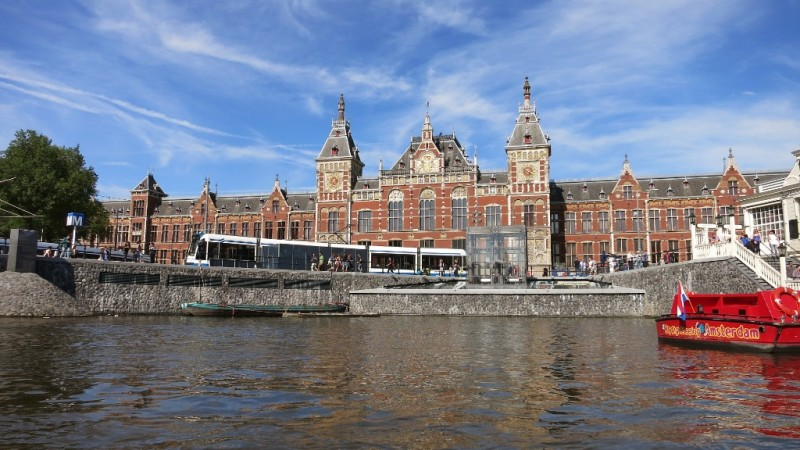 Centraal Station Amsterdam Those Dam Boat Guys Canal Cruise