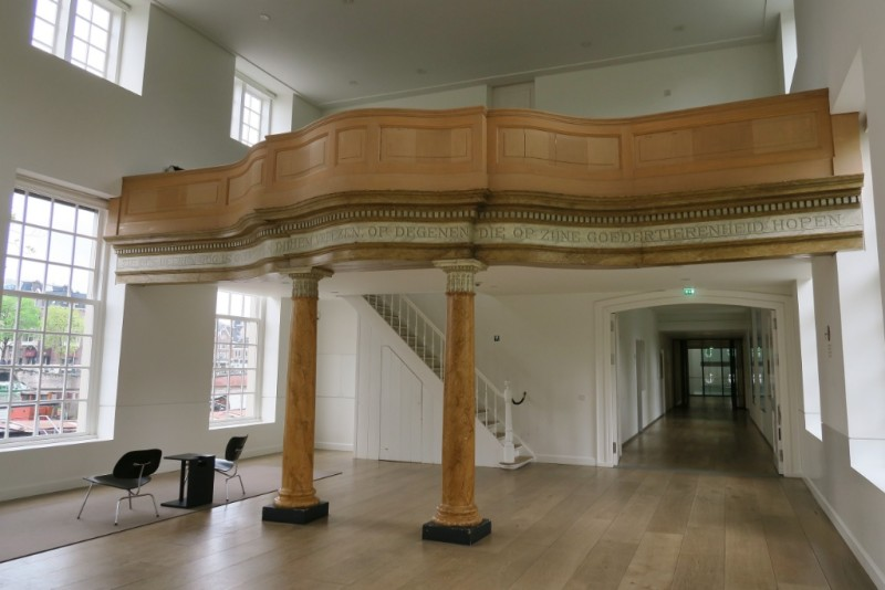 Church Hall Loft Hermitage Amsterdam