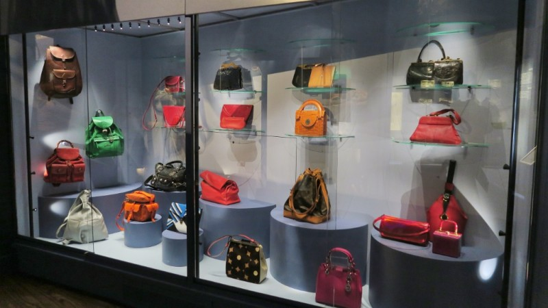 Display Of Bags Museum And Purses Amsterdam