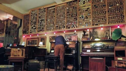 Interior Pianola Museum Amsterdam