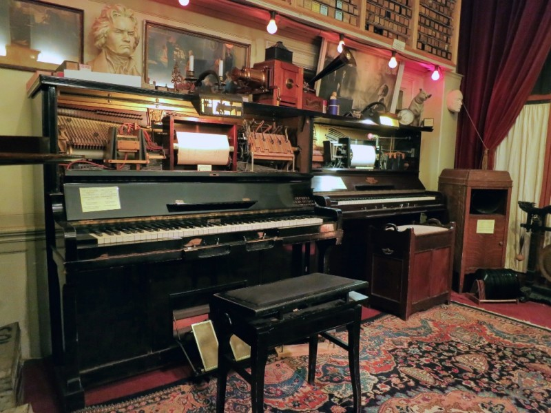 Player Pianos at Pianola Museum Amsterdam