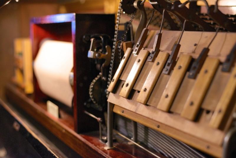 Pneumatic Motor Pianola Museum Amsterdam