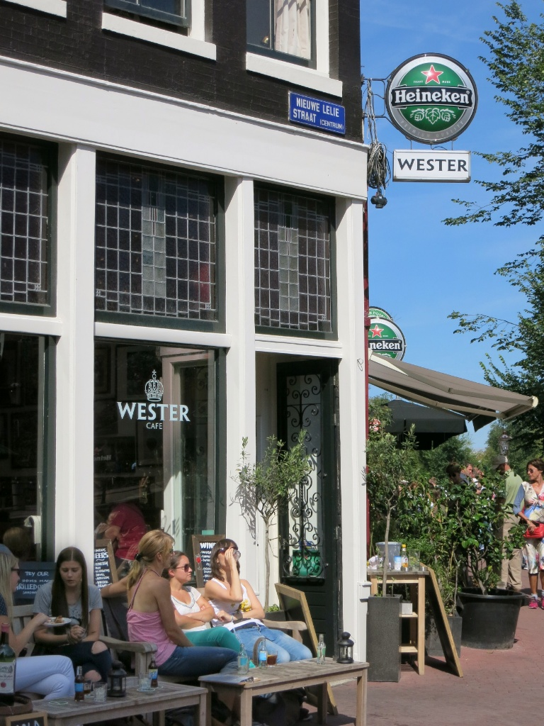 The Wester Cafe Meeting Place Those Dam Boat Guys Canal Cruise Amsterdam