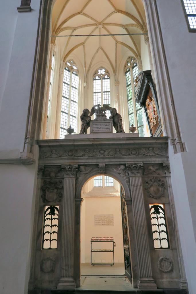 Baptistry De Graeff Family Tomb Oude Kerk Amsterdam