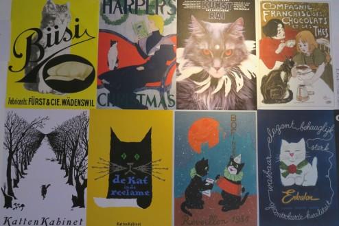 Cat-themed Posters Kattenkabinet Amsterdam
