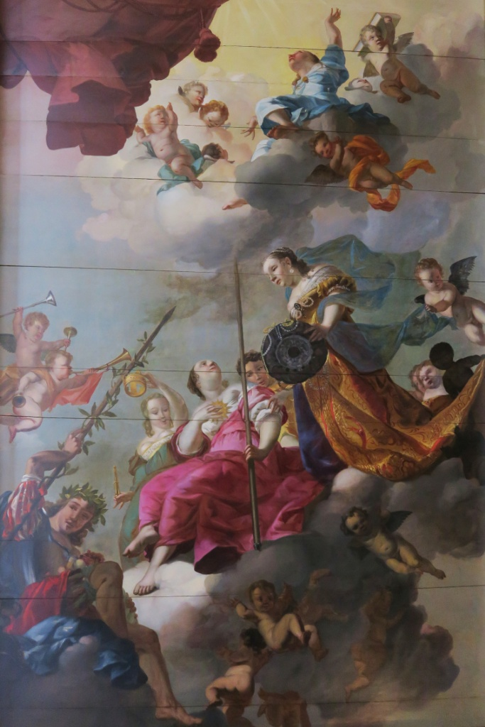 Ceiling Painting of Ball Room Kattenkabinet Amsterdam