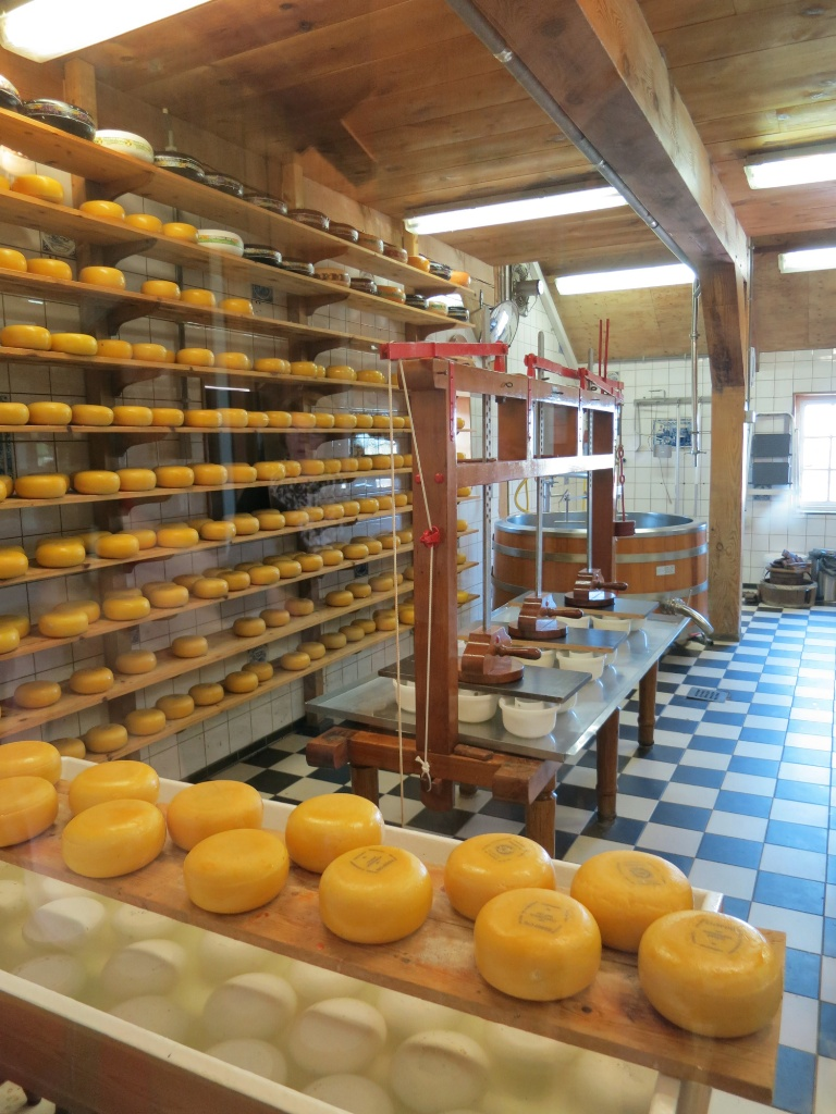 Cheese Farm Interior Zaanse Schans Holland