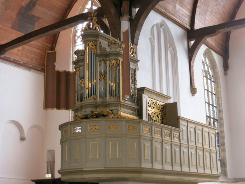 Choir Organ Oude Kerk Amsterdam