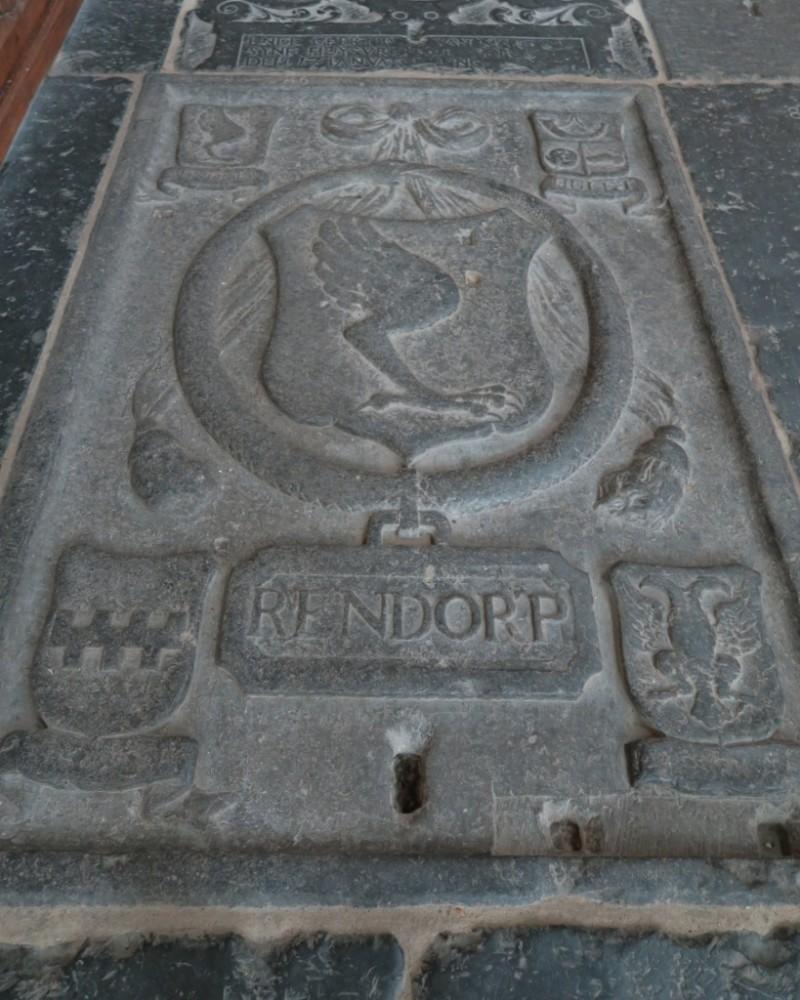 Grave Marker of Joachim Rendorp Oude Kerk Amsterdam
