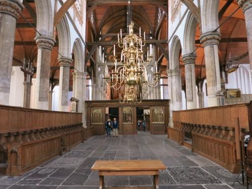 High Choir Oude Kerk Amsterdam