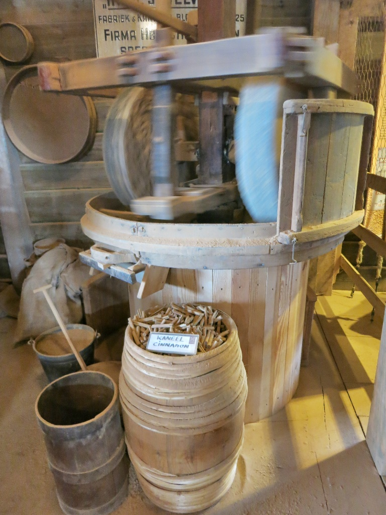 Indies Welvaren Spice Mill Zaanse Schans Holland