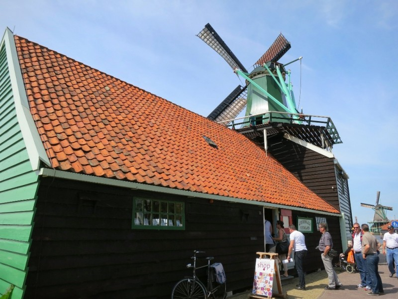 Indies Welvaren Spice Mill and Museum Zaanse Schans Holland