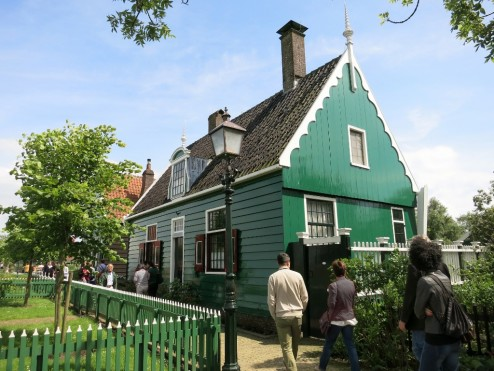 Near the Bakery at Zaanse Schans Holland