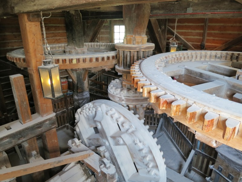 Paintmill De Kat Reduction Gears Zaanse Schans Holland