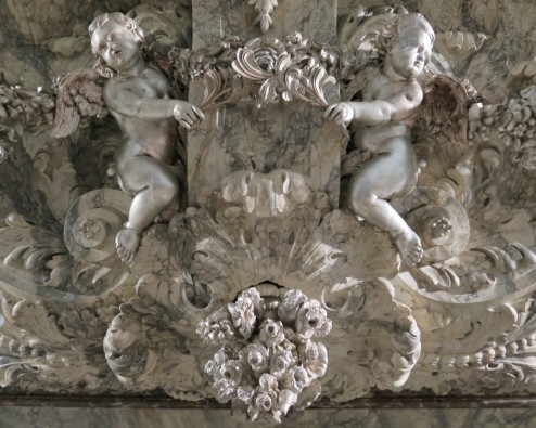 Relief with Putti Oude Kerk Amsterdam