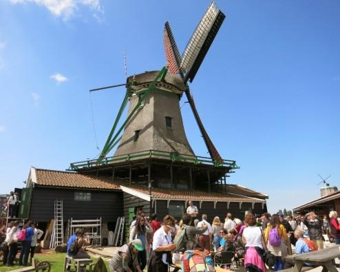 Sawmill Het Jonge Schaap Zaanse Schans Holland