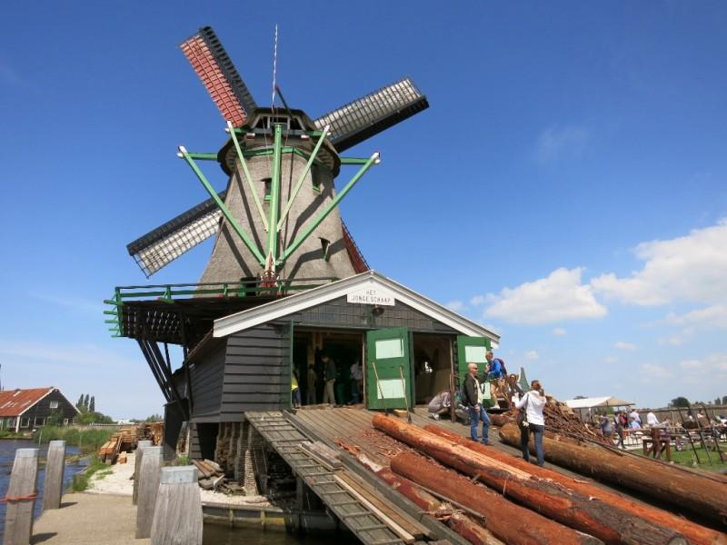 Sawmill Ramp Zaanse Schans Holland