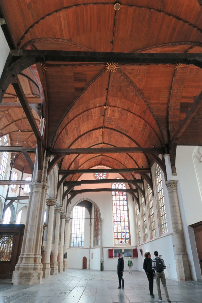 South Aisle with Wooden Ceiling Oude Kerk Amsterdam