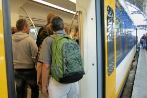Train to Zaanse Schans Holland
