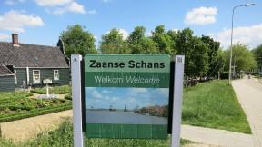 Welcome to Zaanse Schans Sign Holland