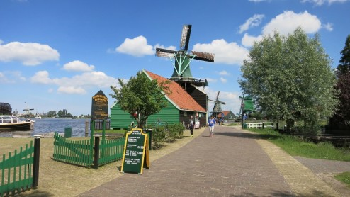 Windmill Zaanse Schans Holland
