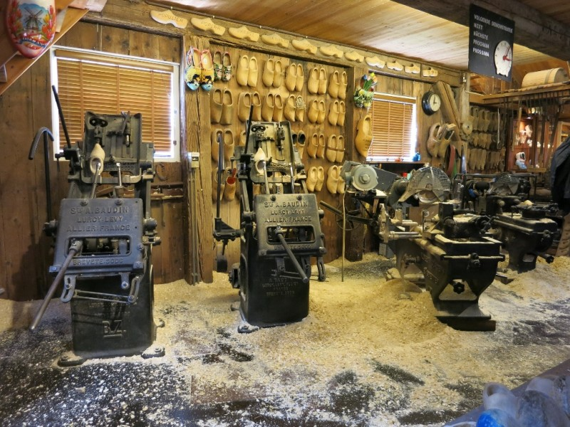Wooden Shoe Workshop Zaanse Schans Holland