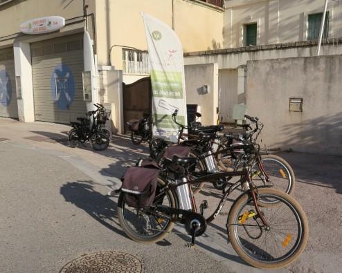 Bikes at Cassis à Vélo Cassis France